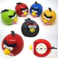 MP3 плеер-игрушка Angry Birds со слотом под карту памяти Micro SD!Акция