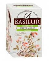 """Чай зеленый Basilur """"Белое волшебство"""" 25 пак"""