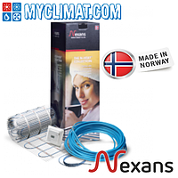 Теплый пол электрический Nexans MILLIMAT/150 900 W 6,0 м2 Двухжильный нагревательный мат