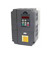 Инвертор (частотник) 4KW 380V три фазы