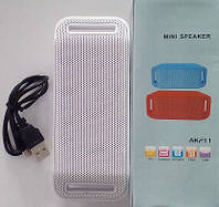 Беспроводная портативная колонка AK-211 Mini speaker Bluetooth!Акция