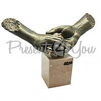 Скульптура Anglada «Твоя рука в моей», h-28х39х17 см (436a)