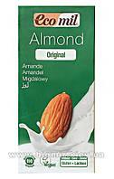 Молоко миндальное с сиропом агавы, ТМ EcoMil