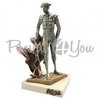 Скульптура Anglada «Тореадор», h-23х13х12 см (414a)