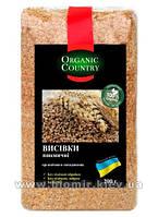 Отруби пшеничные, органические Украина, Organic Country, 200 г