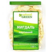 Миндаль нарезанный, 100 г, NATURAL GREEN