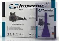 Капли Inspector д/кошек больше  4 кг 1пипетка Экопром