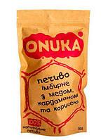 Печенье имбирное с медом, кардамоном и корицей ONUKA