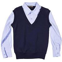 Рубашка-обманка для мальчика-подростка