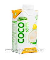 Кокосовая вода Cocoxim натуральная с ананасом (330мл)
