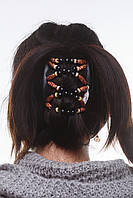 Заколка для волос African butterfly Beada 004 черная, фото 1