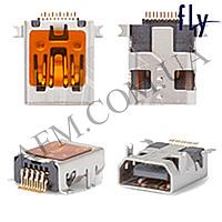 Конектор Fly DS103/  DS105/  FS107/  DS113/  DS120/  E130/  E145/  TS105/  TS90 (mini USB) 10pin