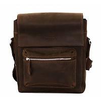 Кожаная мужская сумка через плечо Mk6.4