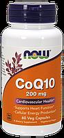 NOW Foods CoQ 10 200mg 60caps