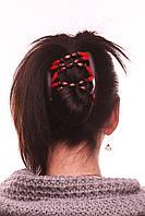 Заколка для волос African butterfly Beada 008 коричневая