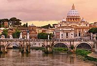 Красивые фотообои Рим размер 368 х 254 см