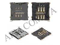Конектор Sim HTC S720 One X G23/  S728e One X+/  601n One mini