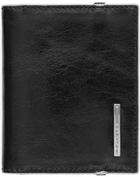 Солидная кожаная кредитница Piquadro VIBE для 20 карт PP1395VI_N, черный