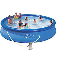 Надувной басейн intex 28158 Easy set 457 х 84 см.