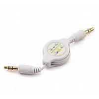 AUX Аудио-кабель 3.5 jack M/M (рулетка) 1,5м Good Quality!Акция