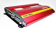 Автомобильный 4-х канальный усилитель звука VX12 MRV-F905  4200W + USB