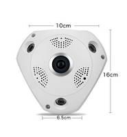 WI-FI IP-камера DL-T9 (панорамная, 1.0MP - 1280*720P, инфракрасное ночное видение, поддержка TF карты памяти)!Акция