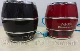 Беспроводная портативная колонка WS 306 Bluetooth!Акция, фото 2