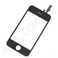 Сенсор (Touch screen) Apple iPhone 3G + lens черный