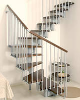 Лестница маршевая Arke  Kompact 89. Лестницы Арке. Лестницы под заказ