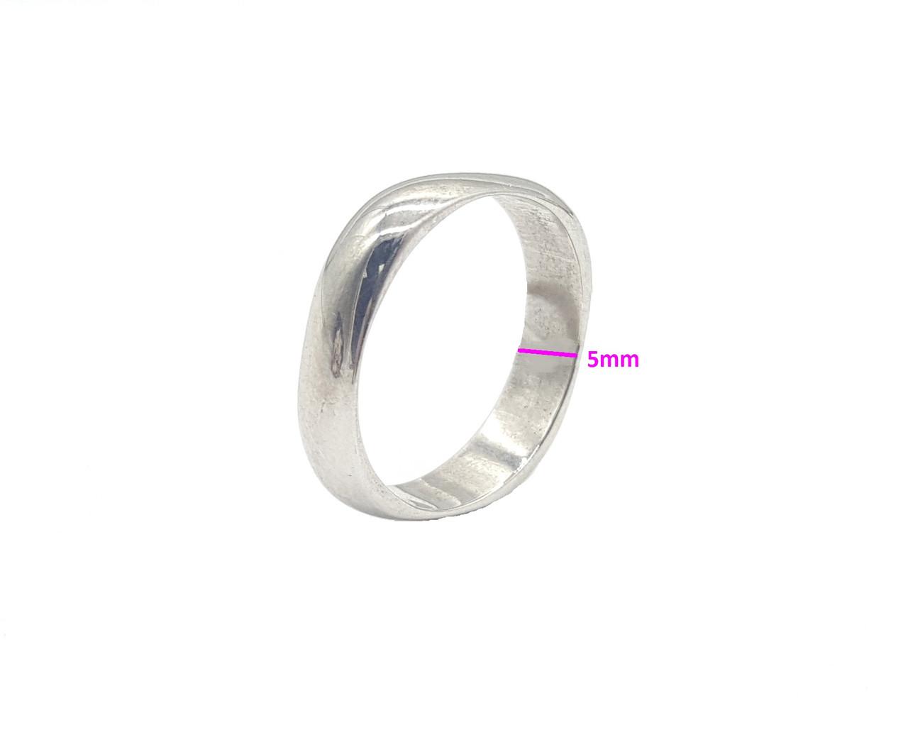 Кольцо серебряное, Обручальное,р.16,5, (3,0-3,5 гр.)