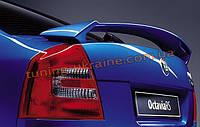 Спойлер на крышку багажника Type RS из ABS пластика на Skoda Octavia A5 2004-2009