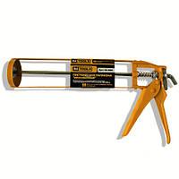 Пистолет для герметика скелетный 225 мм HTtools