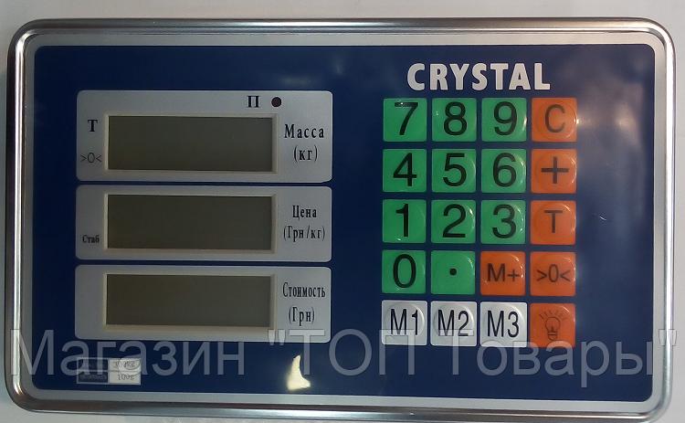 Голова на ВЕСЫ CRYSTAL T-601 HEAD 300 kg!Акция, фото 2