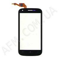 Сенсор (Touch screen) Fly IQ443 Trend черный