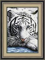"""Набор для рисования камнями (холст) """"Бенгальский тигр"""" LasKo TT021"""