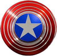Спиннер Щит Капитана Америки ОРИГИНАЛ, fidget spinner Captain America. Спиннер Капитан Америка