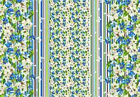 Ткань Ранфорс Весна зеленая