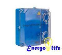Ящик под трехфазный электрический счетчик (Черновцы),  пластиковый, герметичный