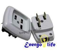 Разъем силовой РШ-ВШ 40А 20-З 220В, 1 фазный, для создания соединений - Energo Life в Днепропетровской области