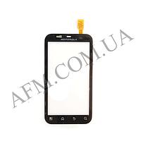 Сенсор (Touch screen) Motorola MB525 Defy/  MB526 черный