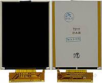 Дисплей (экран) для телефона Fly TS111 Original