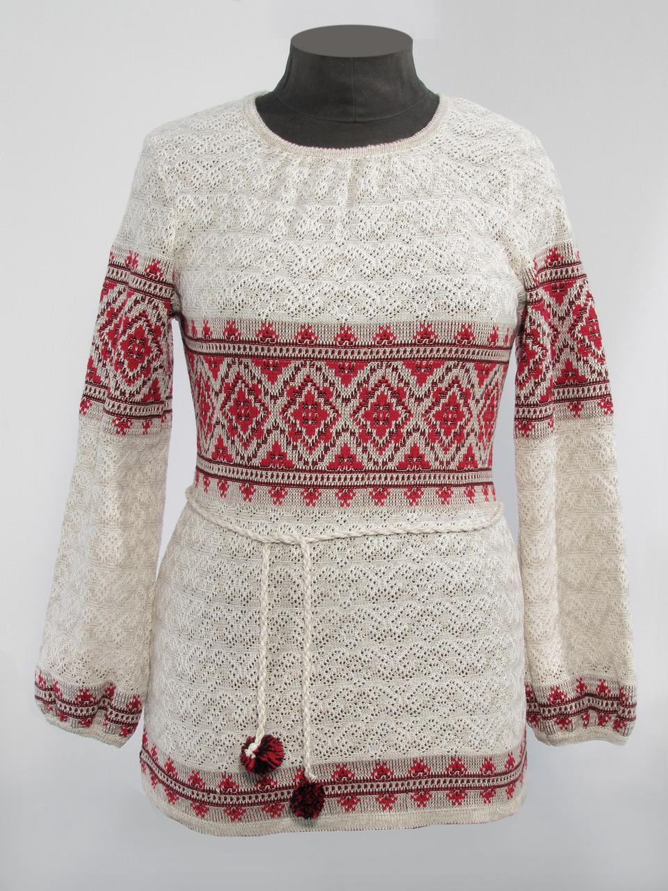 Женская вышиванка с длинным рукавом