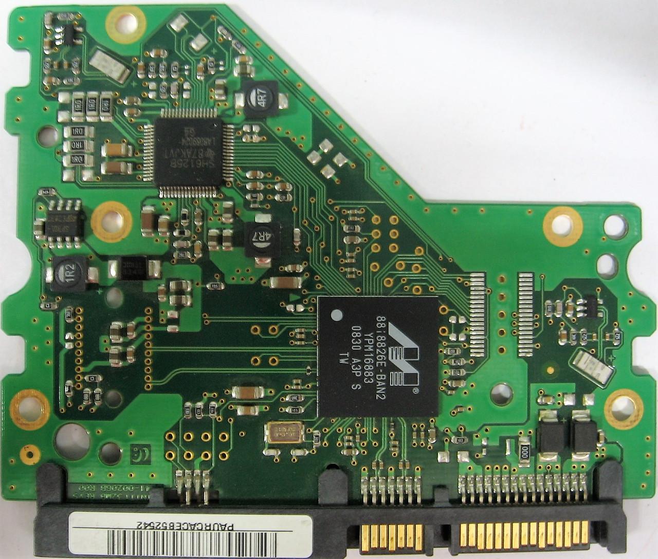 Плата HDD 750GB 7200rpm 32MB SATA II 3.5 Samsung HD753LJ BF41-00206B