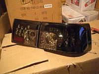 Фары задние диодные на ВАЗ 2112 Картечь (черные тонированные