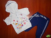 Комплект для новорожденных интерлок (кофточка+штанишки) р.74 см