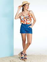 Женские классические джинсовые шорты Sommer (разные цвета)