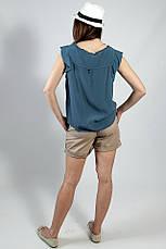 Блуза женская  летняя однотонная  без рукавов Rinascimento , фото 3