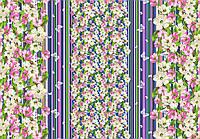 Ткань Ранфорс Весна фиолет