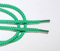 Шнурки круглые 4мм зеленый (трава), фото 1