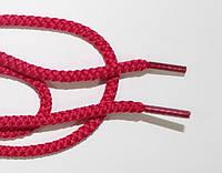 Шнурки круглые 4мм малина, фото 1